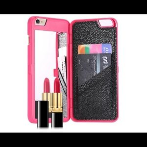 Women Mirror Case For Iphone Plus Deluxe Cover